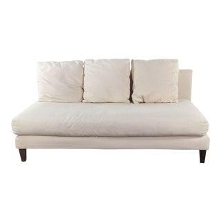 Contemporary Crate & Barrel Sofa For Sale