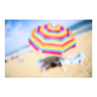 "Cheryl Maeder ""Beach Series Iv"" Archival Photographic Watercolor Print For Sale"