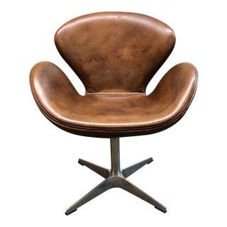 Restoration Hardware Devon Leather Lounge Chair