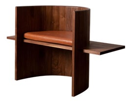 Image of Leather Side Chairs