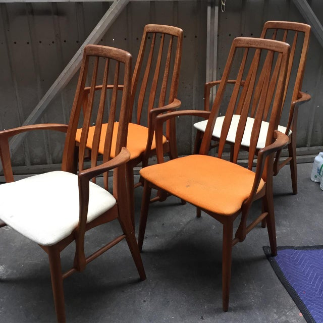 Niels Koefoed for Hornslet Dining Chairs - Set of 4 - Image 5 of 5