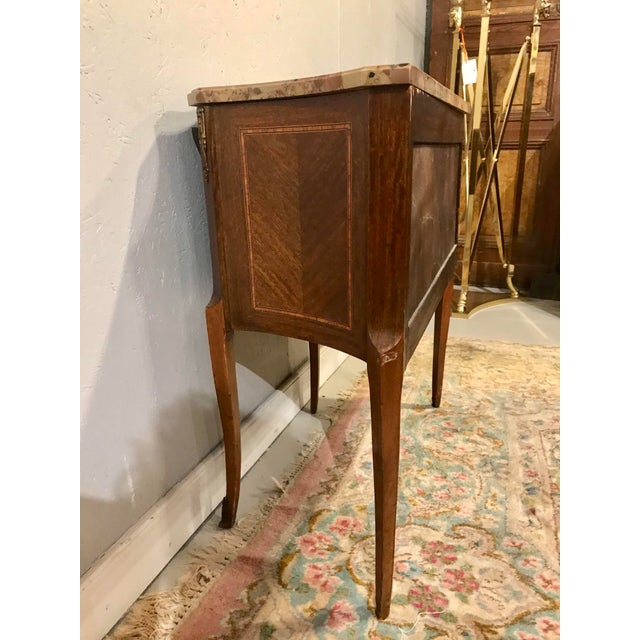 1900 - 1909 Louis XVI Style Side Table For Sale - Image 5 of 8