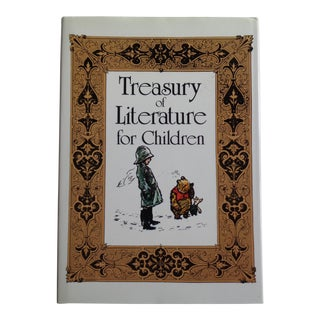 Vintage 'Treasury of Literature for Children' Book of Stories