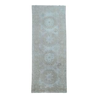 Ivory Vintage Khotan Rug, 4'10'' x 13'2''
