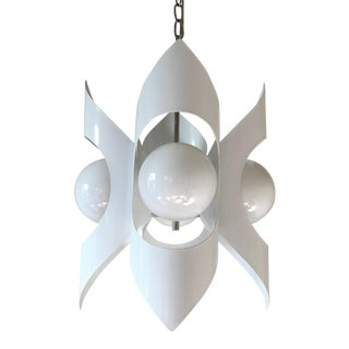 Modern Orbital Chandelier For Sale