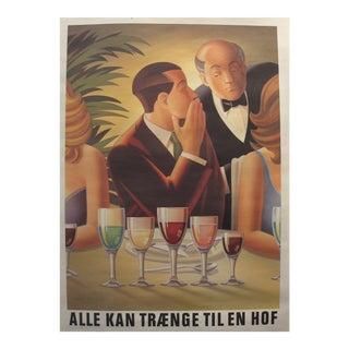 1980s Danish Carlsberg Beer Advertisement