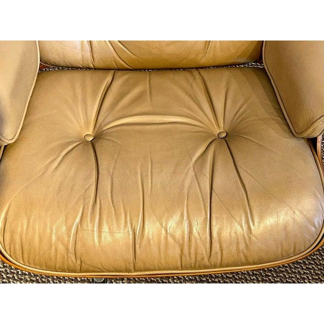 Charles Eames, Herman Miller Midcentury Chair and Ottoman For Sale - Image 12 of 13