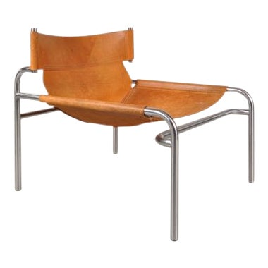 """Lounge Chair """"sz12"""" by Walter Antonis for Spectrum, Netherlands, circa 1970 - Image 1 of 9"""