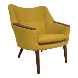 Kurt Orstervig for Rolschau Mobelfabrik Lounge Chair For Sale