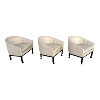 Club Chairs - Set of 3 For Sale