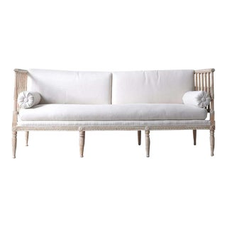 18th Century Swedish Gustavian Period Painted Daybed from Stockholm For Sale