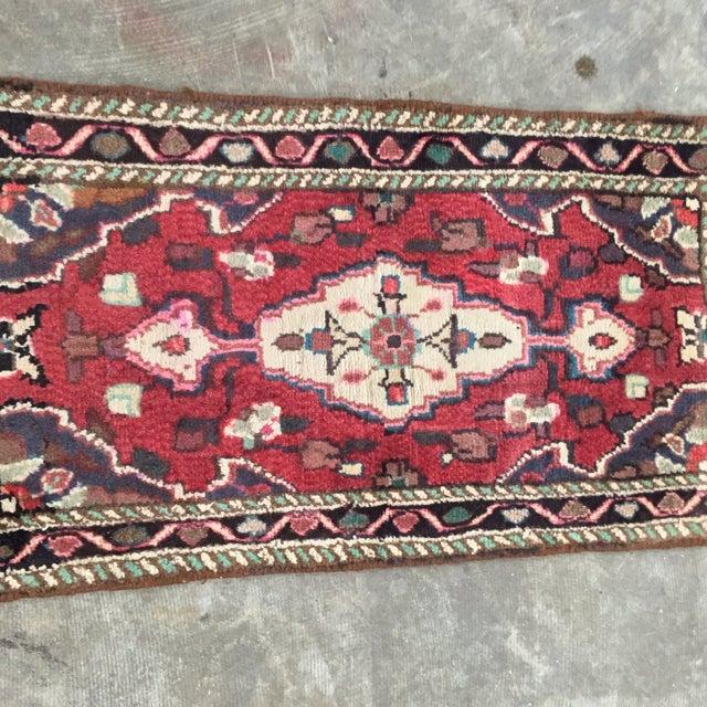 Hamadan Persian Rug - 1′6″ × 2′9″ - Image 3 of 9