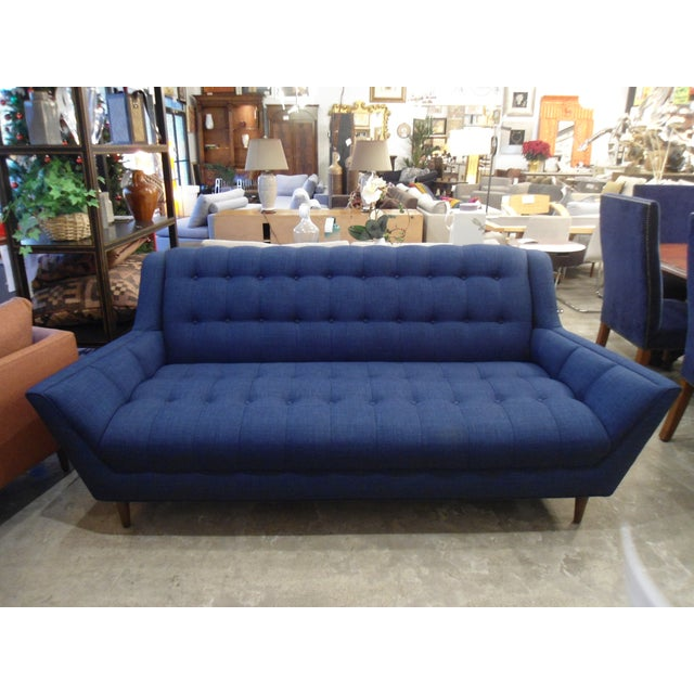 Hardly used, Cleveland sofa bought from Thrive Furnitures. The arms flair our, as shown in the photos listed. In a...