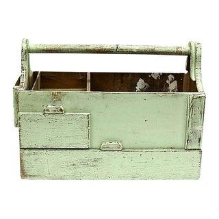 Antique Handmade New England Tool Box For Sale