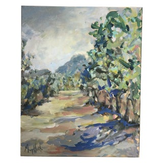 """""""Orchard in St. Remy"""" Painting For Sale"""