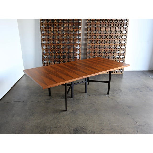 1960s Mid-Century Modern Milo Baughman Dining Table for Directional Furniture For Sale - Image 12 of 13