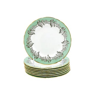 Aynsley Oak Leaf Dessert Plates - Set of 8 For Sale