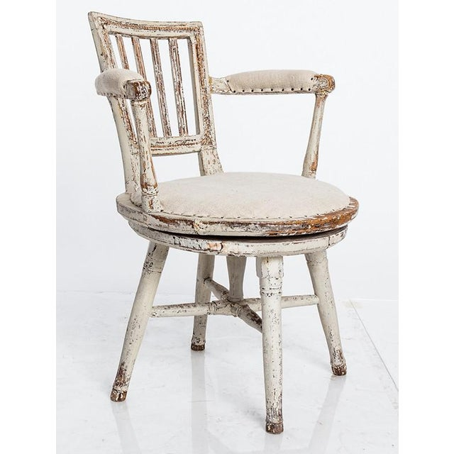 Swedish Swivel Chair - Image 2 of 5