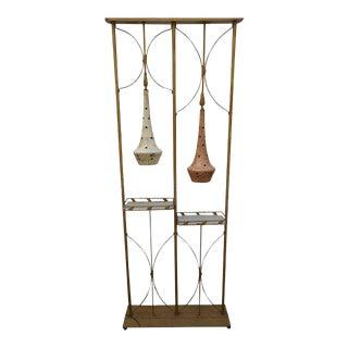 Mid-Century Modern Room Divider Lamp- a Pair