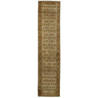 """RugsinDallas Persian Style Hand-Knotted Runner - 2'8"""" X 11'8"""" For Sale"""
