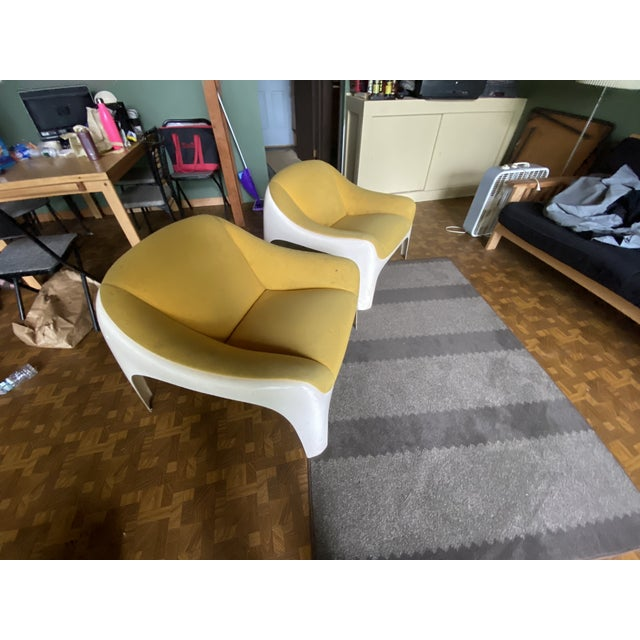 1960s Sergio Mazza Lounge Chairs - A Pair For Sale In Philadelphia - Image 6 of 7