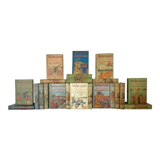 Early 20th Century Vintage Books, ''The Boy Allies Series'' Children's Collection - 22 Pieces For Sale