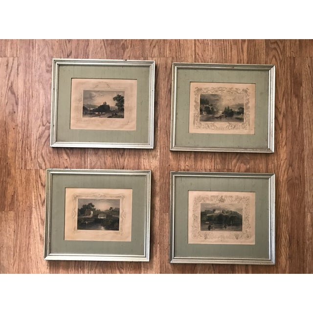 Antique Framed Prints by William Tombleson - Set of 4 - Image 11 of 11