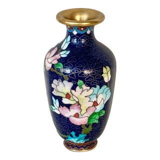 Vintage Cloisonné Vase For Sale