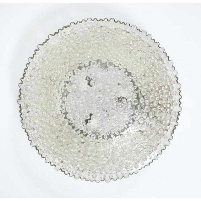 Large Staff Bubble Glass Flush Mount, Germany 1960 For Sale - Image 6 of 6