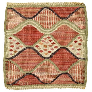 Small Barbro Nilsson Flat-Weave Weaving For Sale