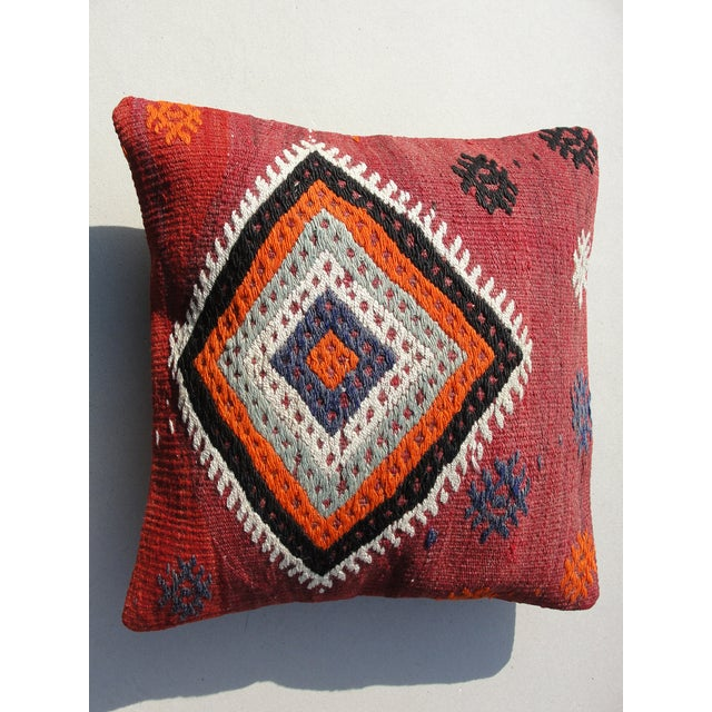 Kilim Rug Pillow For Sale - Image 11 of 11
