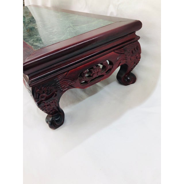 Wood 1980s Chinoiserie Style Plant Stand For Sale - Image 7 of 10