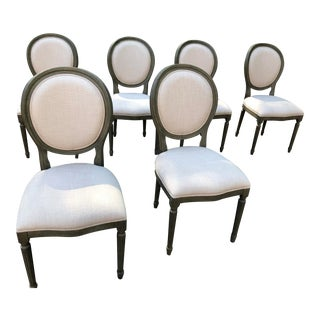 French Provincial Dining Chairs - Set of 6 For Sale