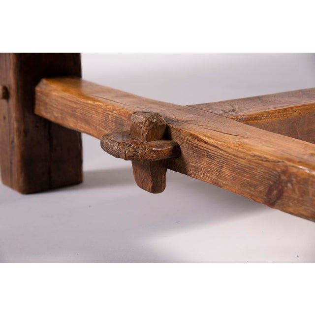 Early 19th Century Rustic Table For Sale In Detroit - Image 6 of 13