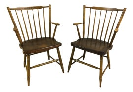 Image of British Colonial Accent Chairs