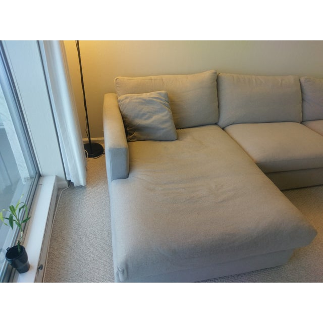 HD Buttercup Couch and Chaise Set - Image 3 of 8