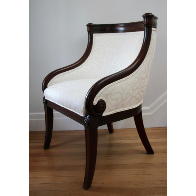 Mid 19th Century Empire Tub Chair, France 19th Century For Sale - Image 5 of 7