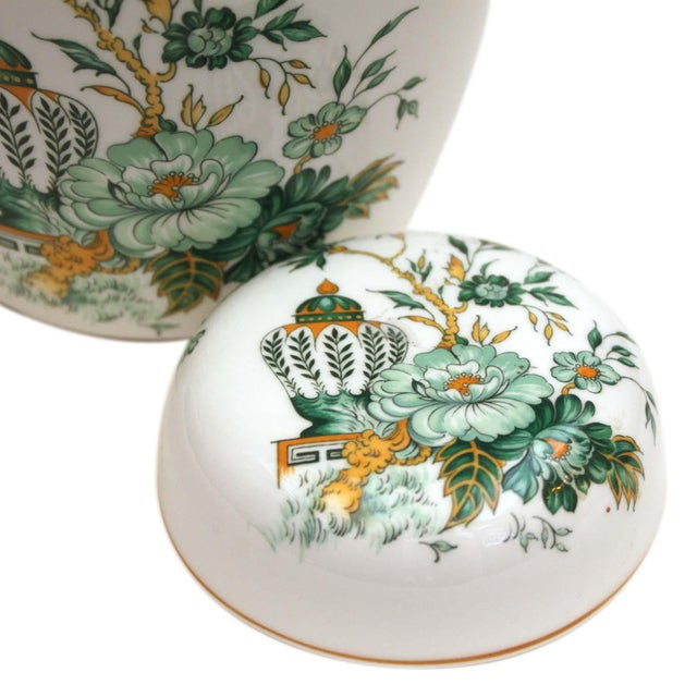 """Asian Crown Staffordshire """"Kowloon"""" Ginger Jar For Sale - Image 3 of 5"""