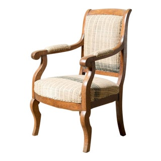Late 19th Century Antique Empire Chair For Sale