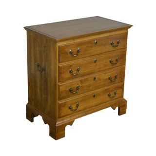 Ethan Allen Circa 1776 Collection Maple Bachelors Chest of Drawers For Sale