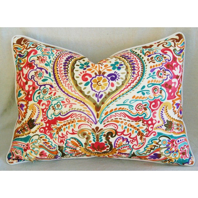 Custom Colorful Cotton & Linen Pillows - Pair - Image 5 of 11