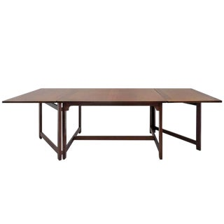 1950s Scandinavian Modern Børge Mogensen for Frederica Library Table For Sale