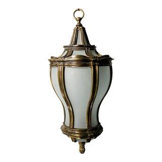 Lantern - Brass Hanging Lantern For Sale