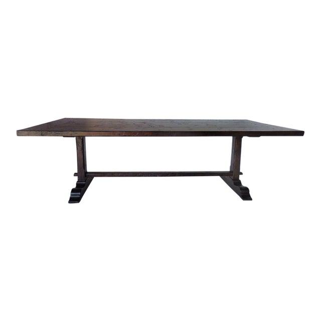 Custom Trestle Table For Sale