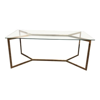 New Pacific Direct Inc. Campbell Glass Tob Dining Table