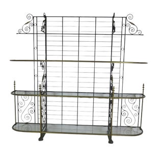 1910s French Baker's Rack For Sale