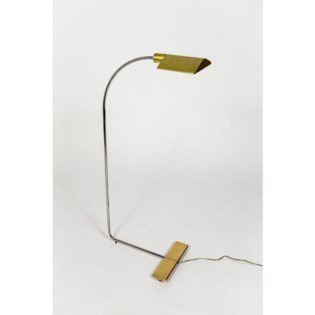 1970s One of a Kind Cedric Hartman Floor Lamp For Sale - Image 13 of 13