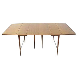 Paul McCobb Extension Dining Table by Calvin For Sale