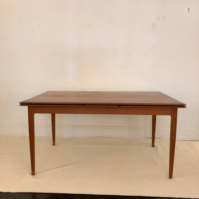 Teak Dining Extension Table by Niels Moller For Sale - Image 10 of 10