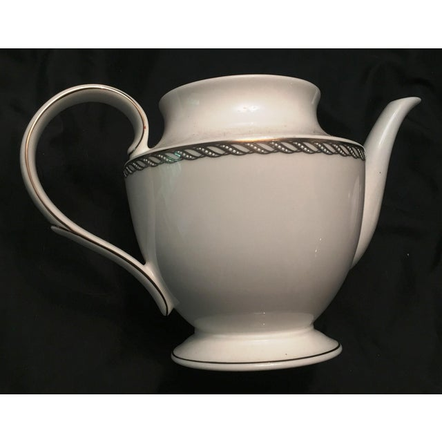 Lenox China Serpentine Teapot - Image 8 of 8
